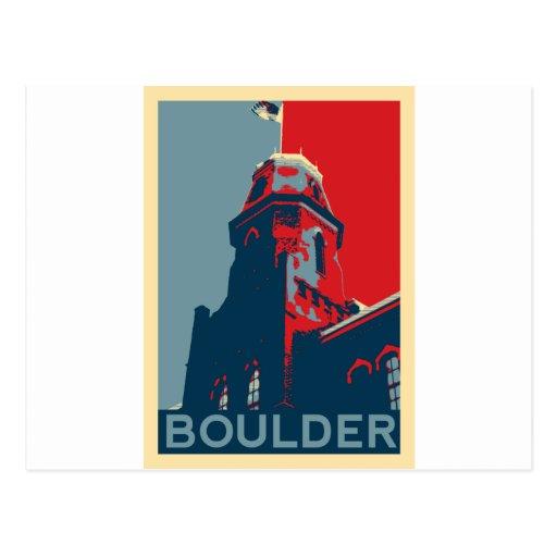 Old Main - Boulder, Colorado Postcard