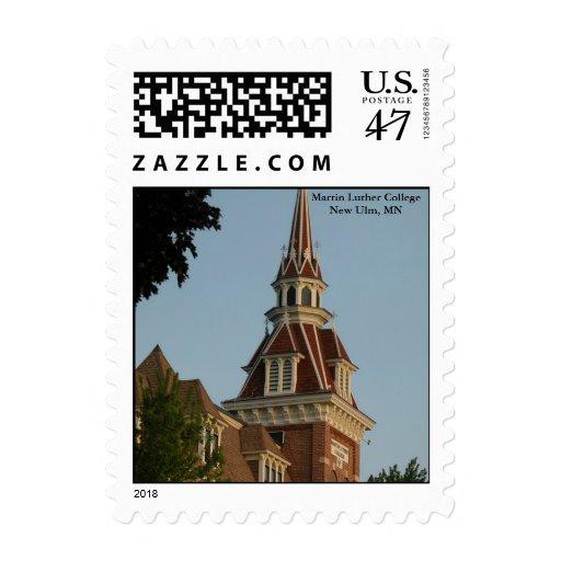 Old Main Sunrise Postage Stamp
