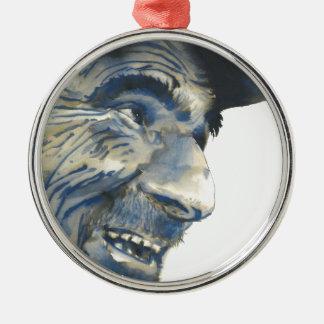 Old Man #002 Metal Ornament