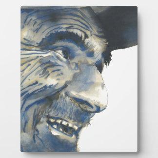 Old Man #002 Plaque