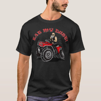 old man 4 wheeler designs, funny shirts with quads