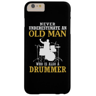 Old Man - A Drummer Barely There iPhone 6 Plus Case