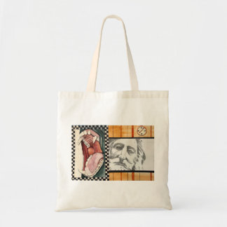 Old Man and the Hippo Tote Bag