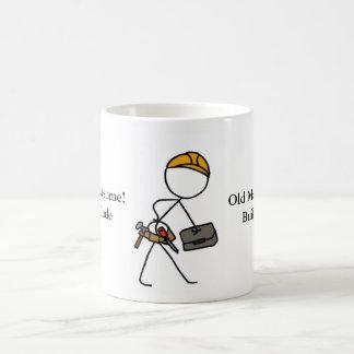 Old Man Awesome Builder Dude Coffee Mug