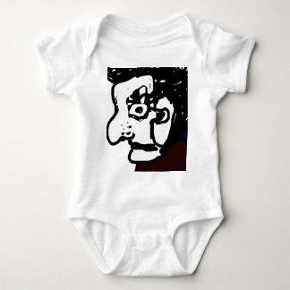 Old man baby bodysuit