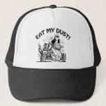 Old Man Biker, Eat My Dust, Can-am Spyder Bike Trucker Hat at Zazzle
