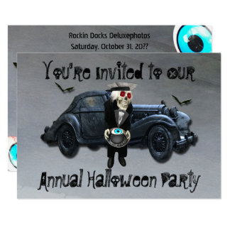 Old Man Car Smokey Road Halloween Party