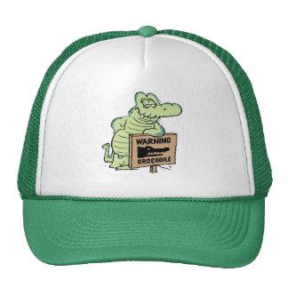 Old Man Croc Cap Trucker Hat