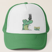 Old Man Croc Dentures Cap