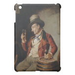 Old Man Drinking Beer Painting iPad Mini Covers