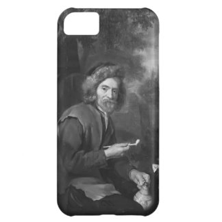 Old Man Holding a Pipe and a jug by Gabriel Metsu iPhone 5C Cover