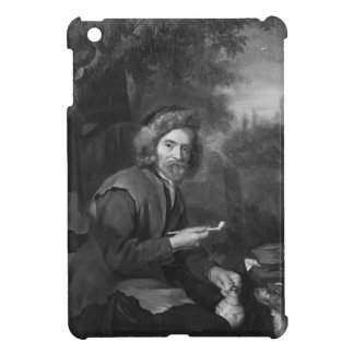 Old Man Holding a Pipe and a jug by Gabriel Metsu iPad Mini Cases