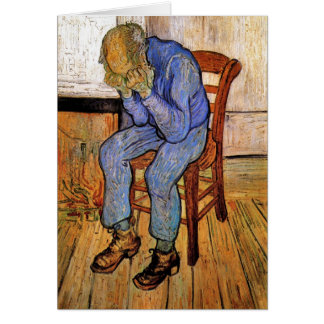 Old Man in Sorrow by Vincent van Gogh 1890 Cards