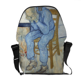 Old Man in Sorrow (On the Threshold of Eternity) 1 Messenger Bag