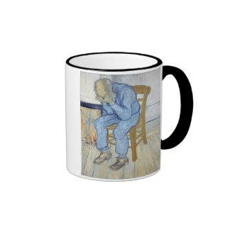 Old Man in Sorrow (On the Threshold of Eternity) 1 Ringer Mug