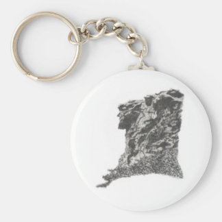 Old Man In The Mountain, NH Keychain
