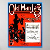 Old Man Jazz Sheet Music pub. 1920 Cover copy