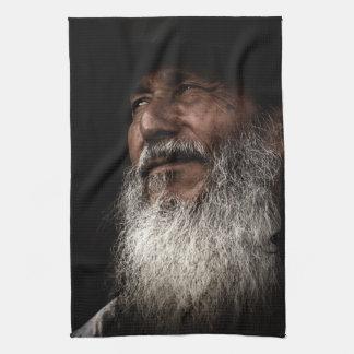 Old Man Kitchen Towel