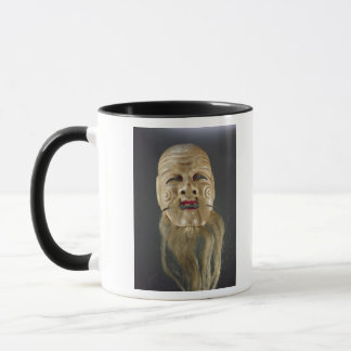 Old Man Mask, Noh Theatre Mug