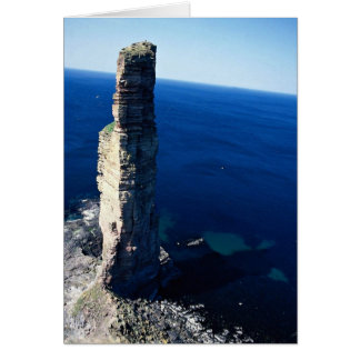 Old man of Hoy, Scotland Greeting Card