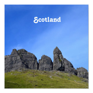Old Man of Storr 5.25x5.25 Square Paper Invitation Card