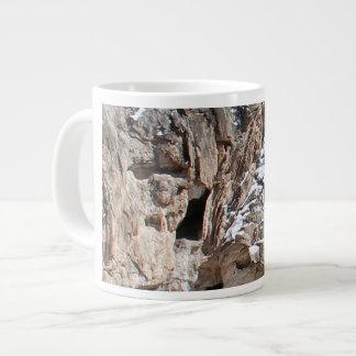 Old Man of the Jemez Soda Dam Giant Coffee Mug
