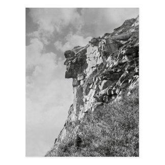 Old Man of The Mountain, 1901. Vintage Photo Postcard
