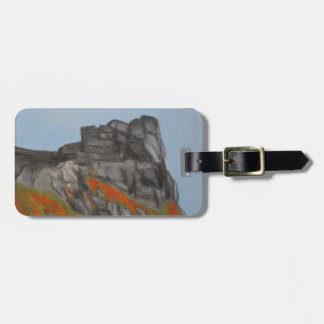 Old Man of the Mountain in Fall Luggage Tag