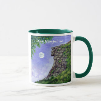 Old Man Of The Mountain New Hampshire Art Mug