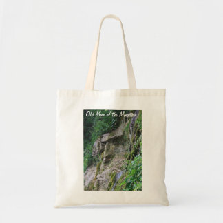 Old Man of the Mountain Tote Bag