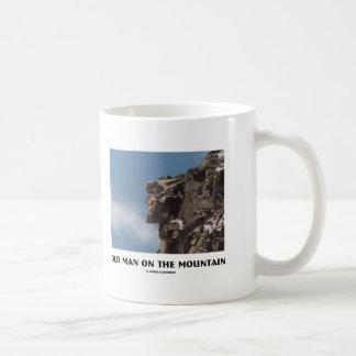 Old Man On The Mountain (Optical Illusion) Mugs