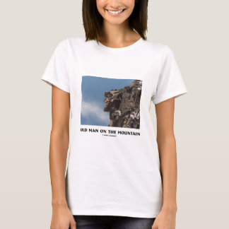 Old Man On The Mountain (Optical Illusion) T-Shirt