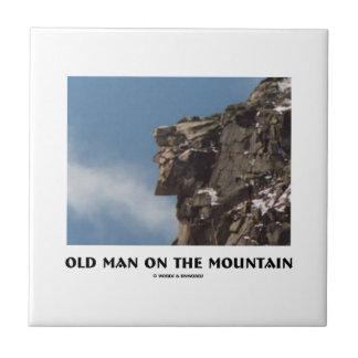 Old Man On The Mountain (Optical Illusion) Tiles