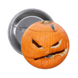 Old Man Pumpkin Button
