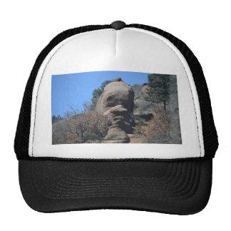 Old man rock trucker hat