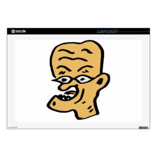 """Old Man Skin For 17"""" Laptop"""