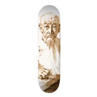 Old Man Smoking 1860 Skateboard Deck