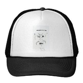 Old Man Squinty Eye Trucker Hat