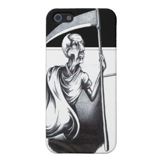 Old Man Time Cover For iPhone SE/5/5s