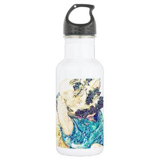 Old Man Under Tree Stainless Steel Water Bottle