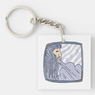 Old Man Winter 2 Keychain