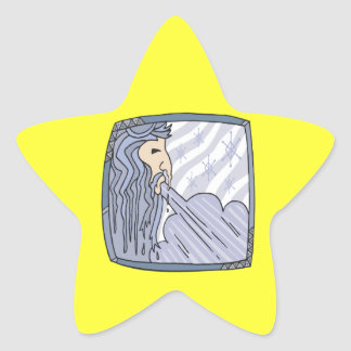 Old Man Winter 2 Star Stickers