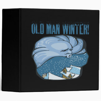 Old Man Winter Binder