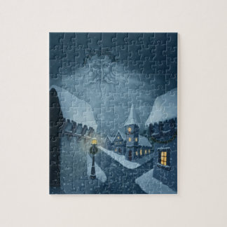 old man winter holiday puzzle