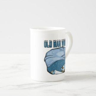 Old Man Winter Tea Cup