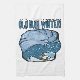 Old Man Winter Towel