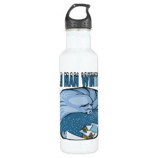 Old Man Winter Water Bottle