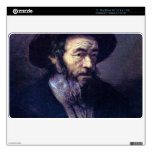 Old man with a fur cap by Rembrandt Skin For The MacBook Air