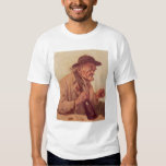 Old Man with a glass of wine T-Shirt