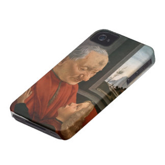 Old Man with a Young Boy by Domenico Ghirlandaio iPhone 4 Case